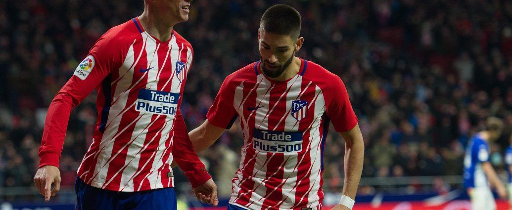 Atletico Madryt i UD Las Palmas