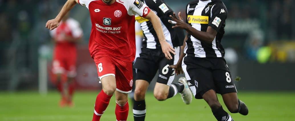 FSV Mainz vs Borussia M'gladbach