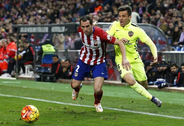 Atletico Madryt vs Levante